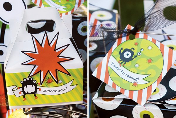 monster mash party printables from hwtm