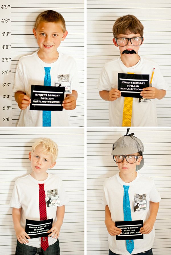 mug shot photo booth
