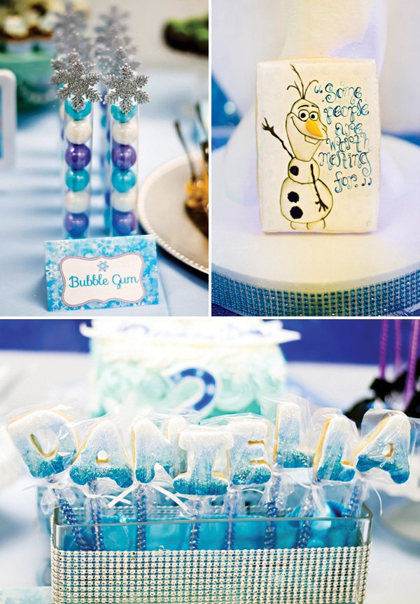 frozen party ideas with olaf