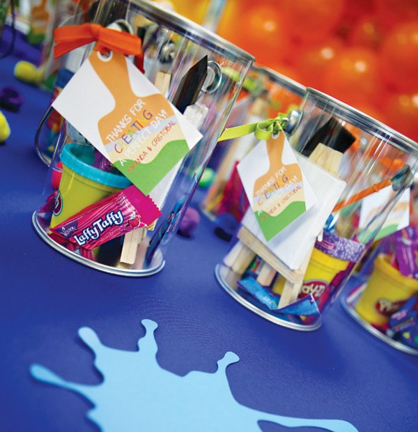 paint can filled party favors