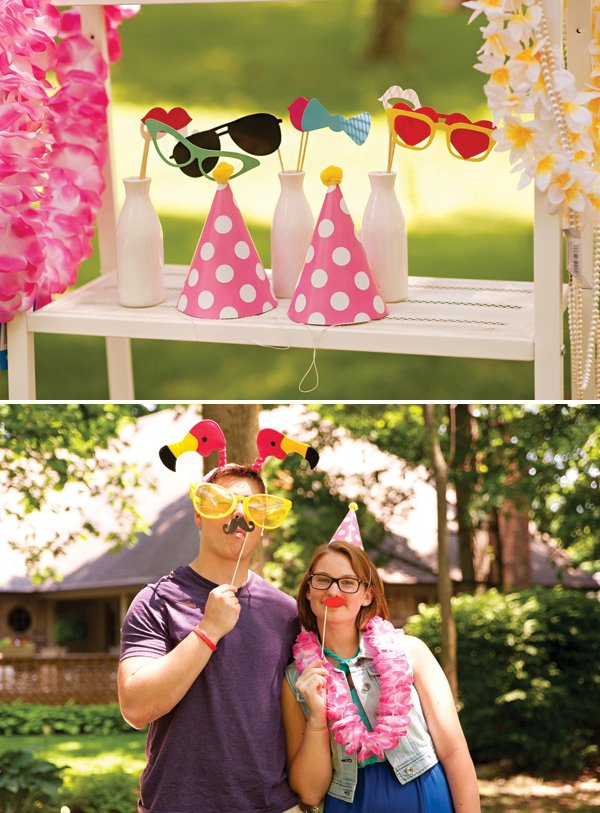 preppy photo booth props