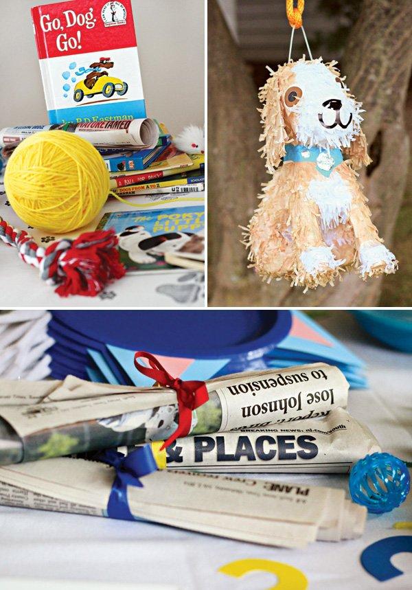puppy party piñata