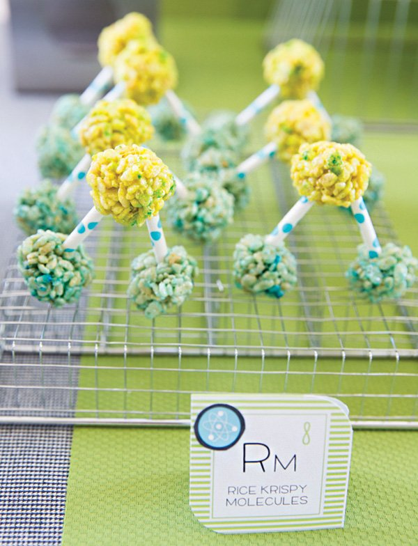rice krispie treat molecules
