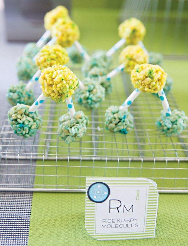 rice krispie treat molecules