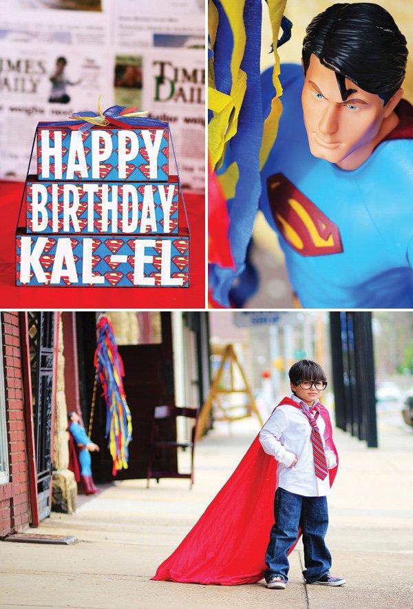 superman birthday party shoto shoot