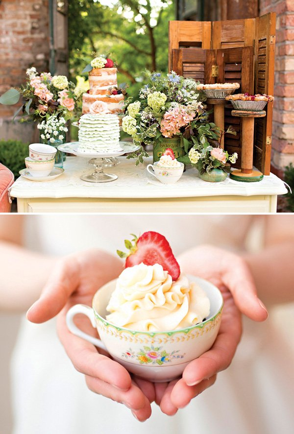 tea party dessert ideas