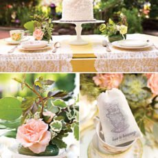 tea party wedding tablescape ideas