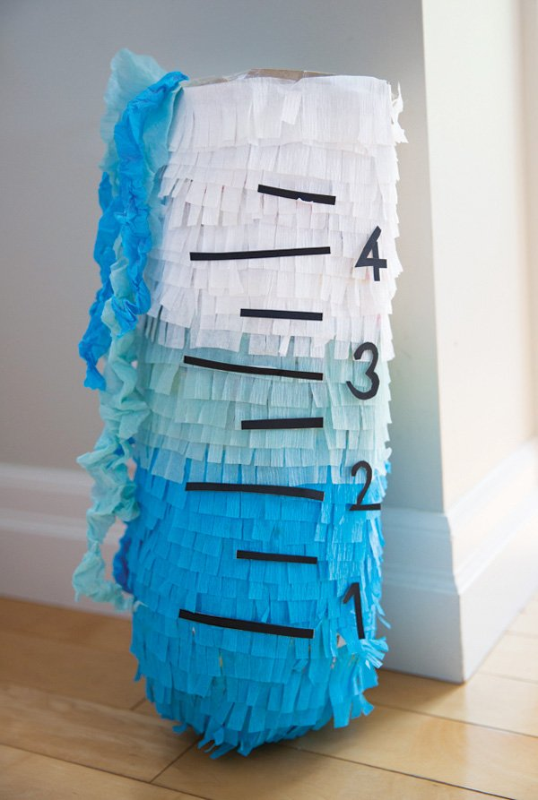 DIY test tube piñata