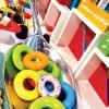 fisher price toy themed party decor