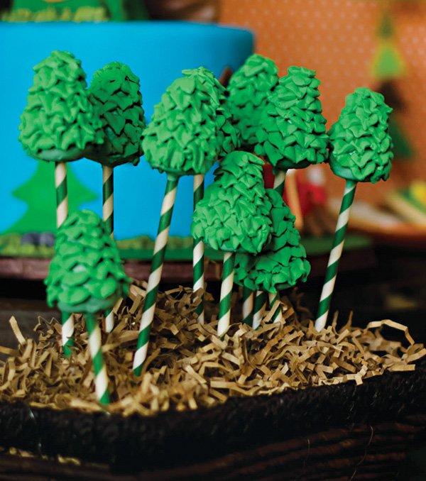 tree cake pops