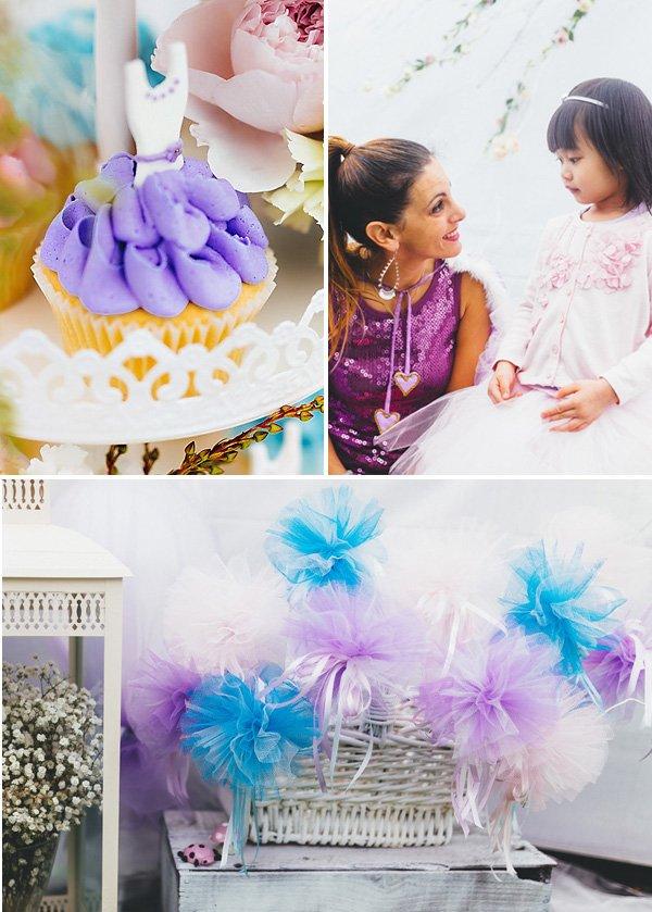 tutu ballerina cupcakes
