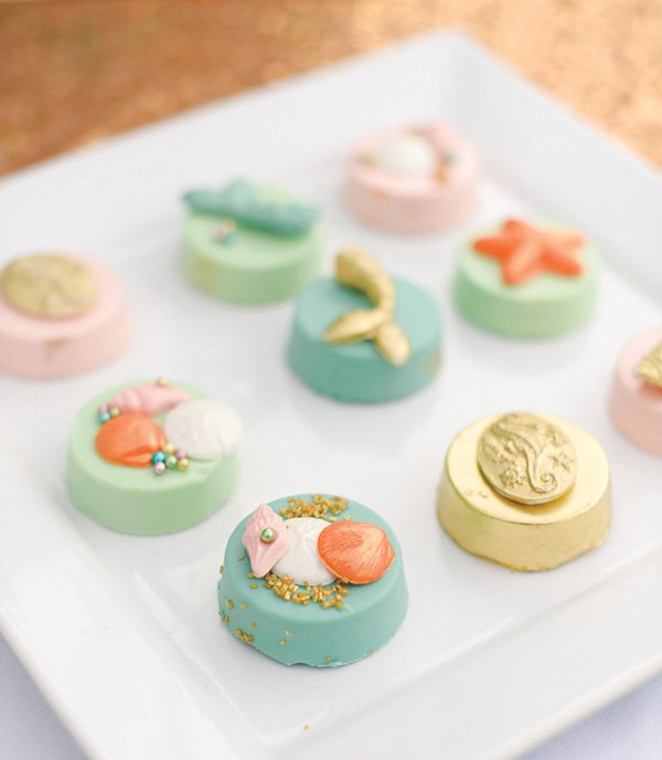 under the sea chocolate Oreos