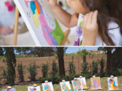 unicorn painting party activity for kids