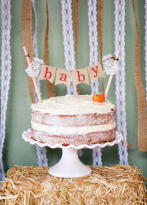 seeing occasion showers with a seasonal twist and this baby shower