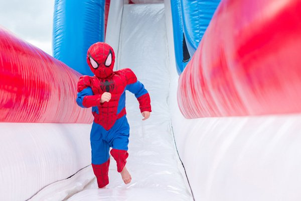 toddler spiderman costume - superhero party outfit