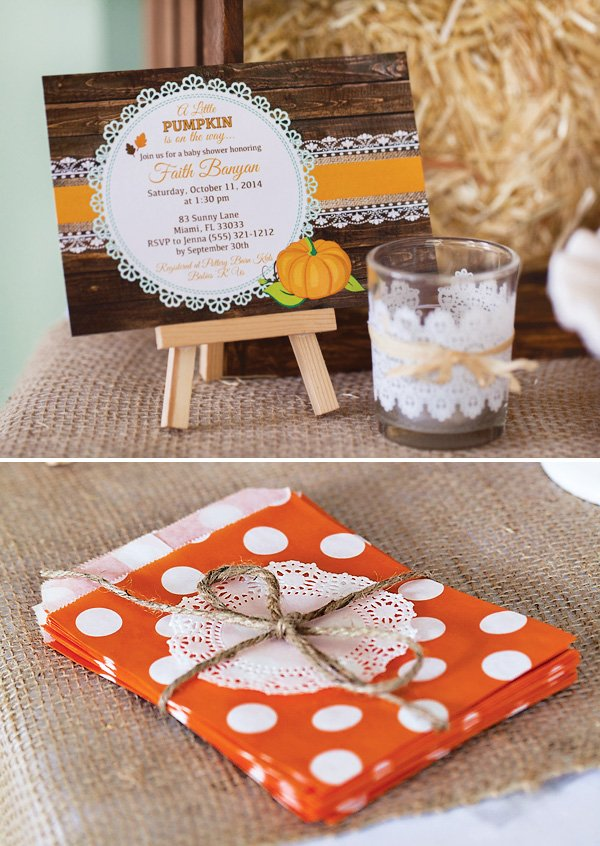 charming rustic little pumpkin baby shower hostess with the mostess