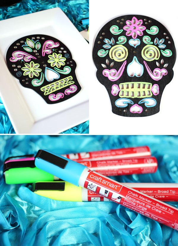 Day of the Dead Sugar Skulls DIY Color