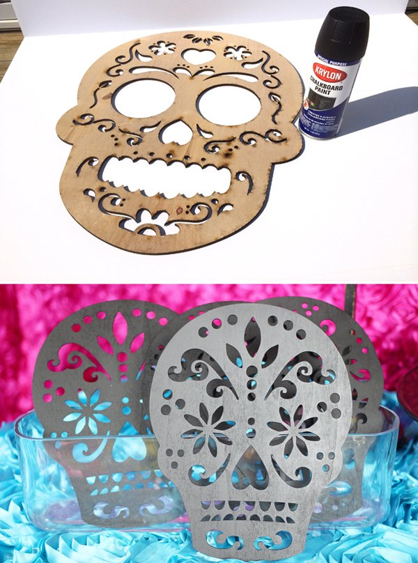 Day of the Dead Sugar Skulls DIY Paint