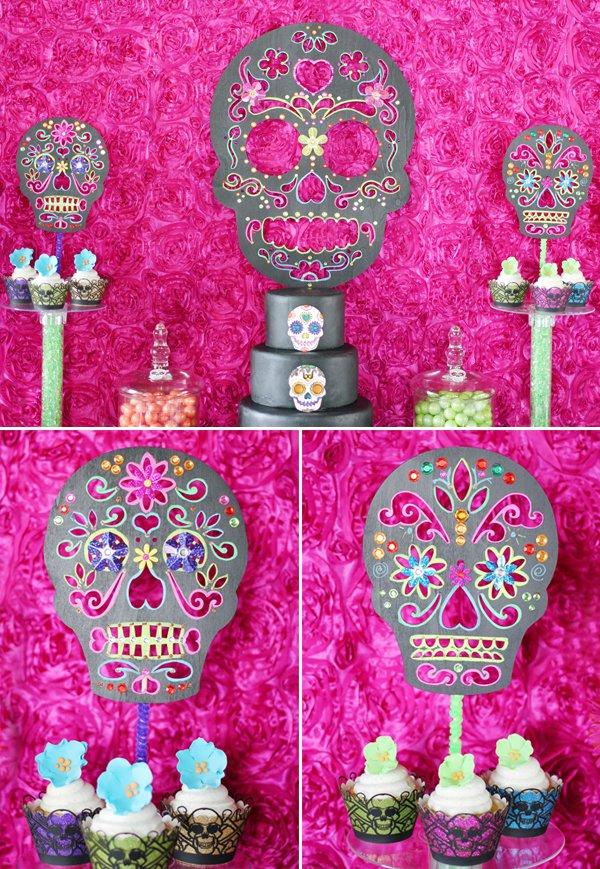 Trend Alert Diy Day Of The Dead Sugar Skull Party