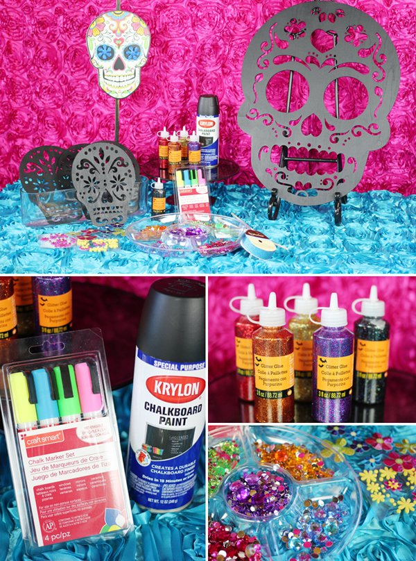 Day of the Dead Sugar Skulls DIY Supplies
