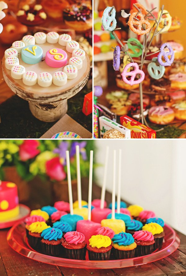 candy themed desserts