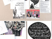 Day of the Dead Wedding Stationery Suite