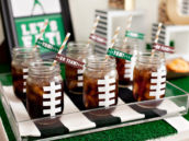 diy-football-party-drinks-and-straw-flags