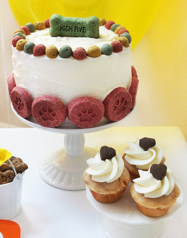 diy dog friendly cake and cupcake recipes