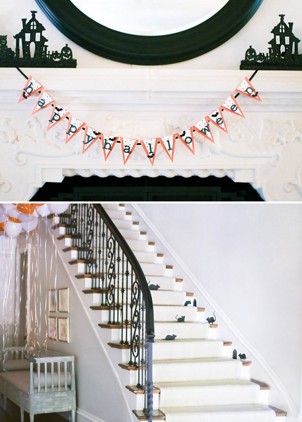 easy halloween house decorations