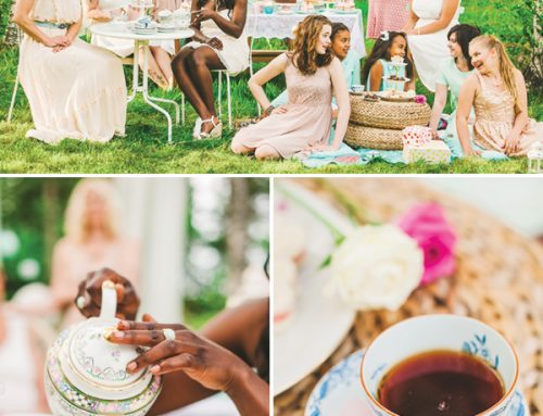 Charming & Lovely Ladies' Garden Tea Party