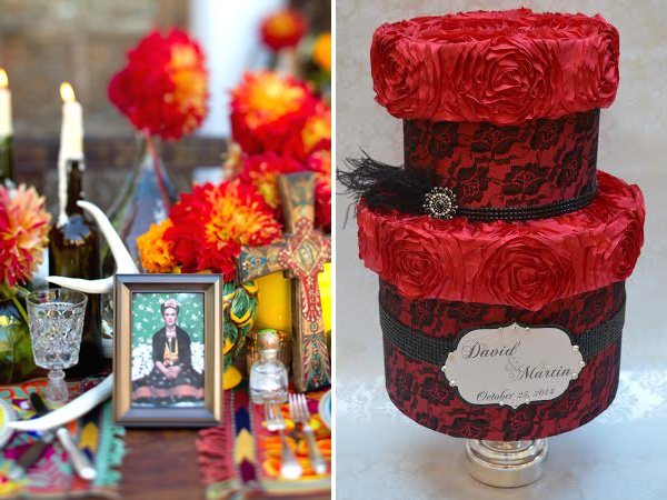 Gothic Glam Halloween Wedding Ideas