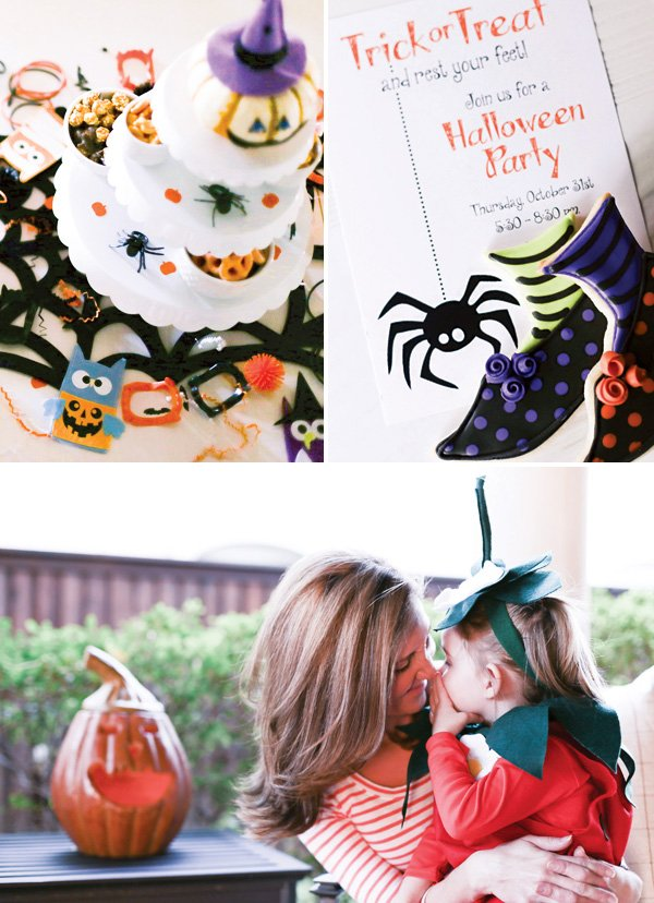 halloween party decor and invitation ideas