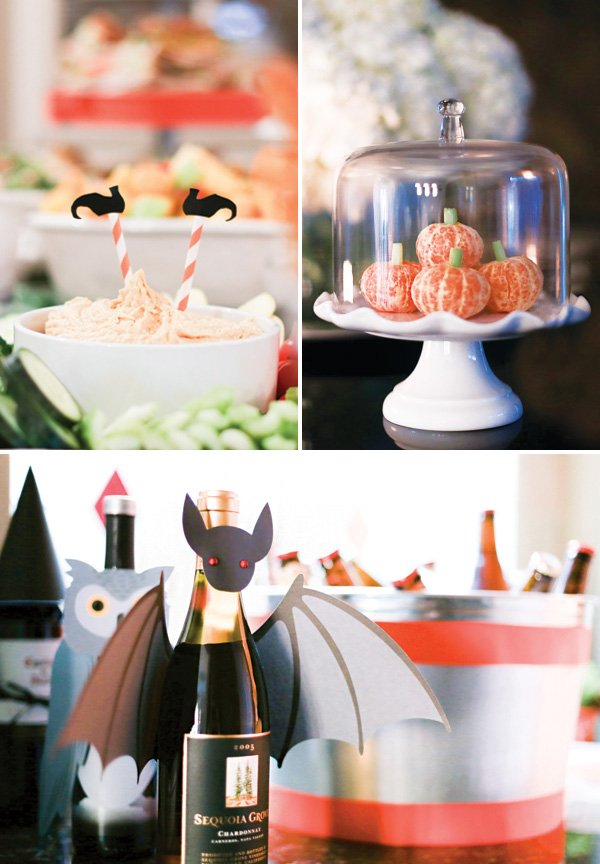 DIY halloween party food display ideas