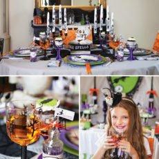 halloween party tablescape ideas