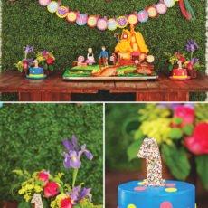 hansel and gretel birthday cake