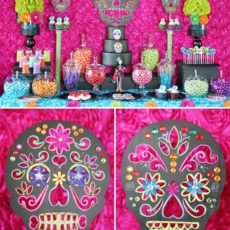 day of the dead sugar skulls DIY
