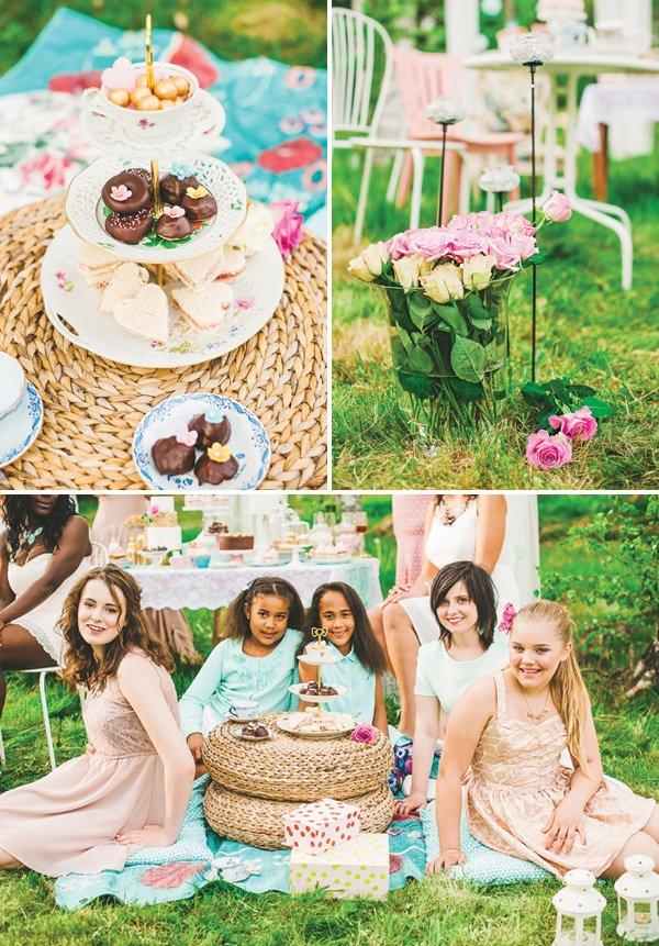 ladies tea party picnic ideas