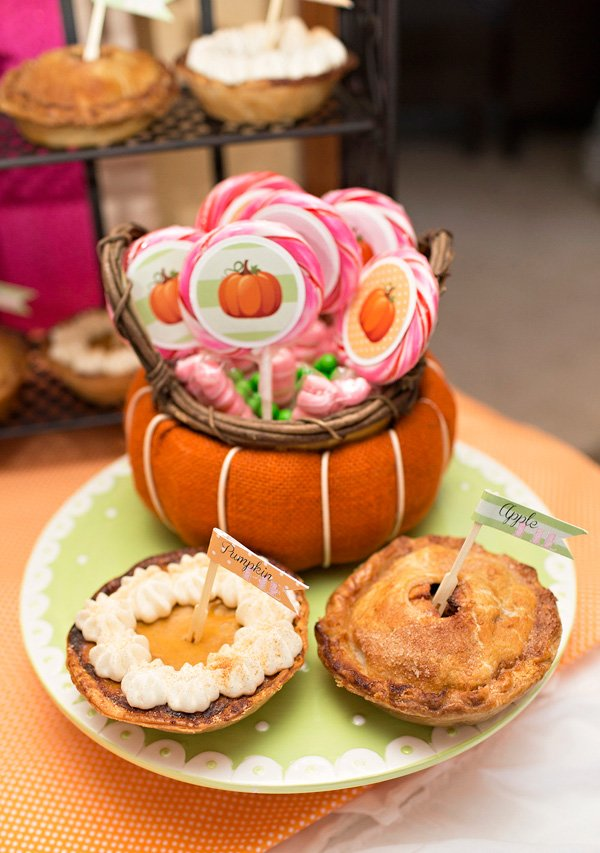 Pumpkin Birthday Candy Favors