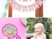Little Pumpkin Birthday Party Decorations