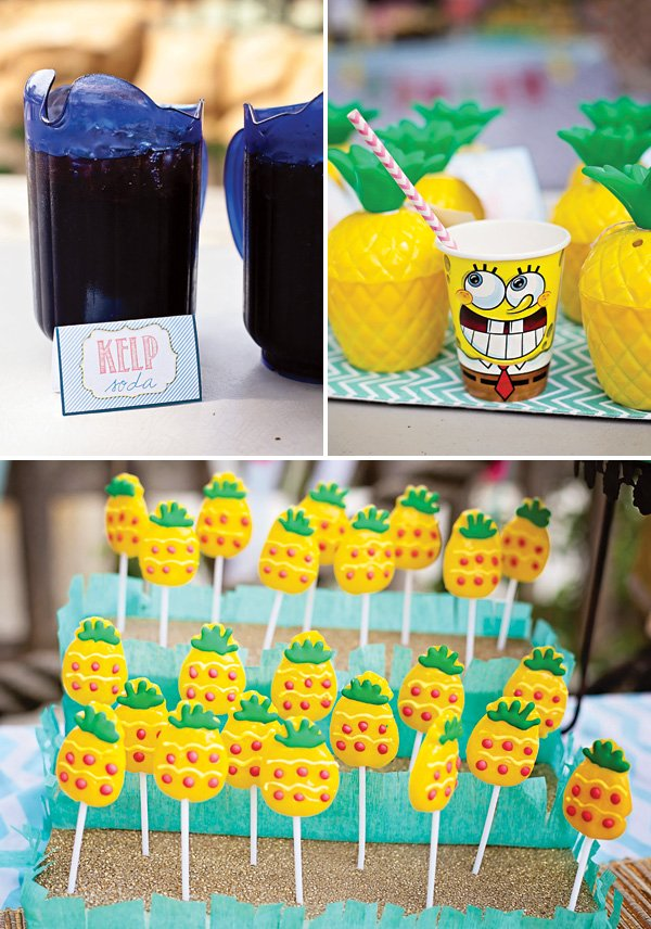 pineapple lollipops and kelp soda