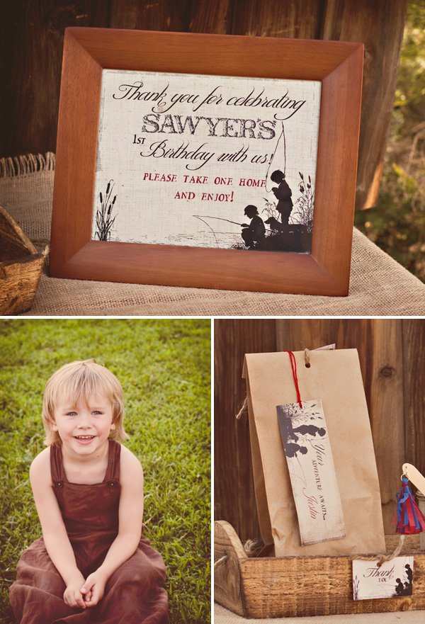 tom sawyer birthday party favors
