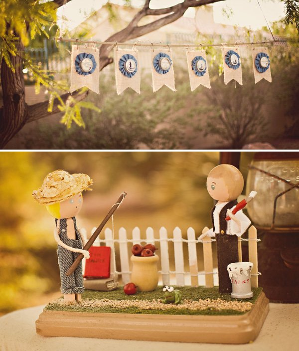 tom sawyer and huck fin party decorations