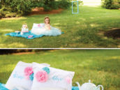 whimsical wonderland picnic party decor