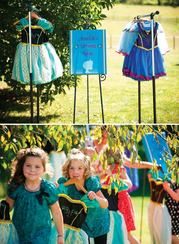 anna and elsa dress costumes for kids