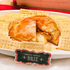 baked apple brie