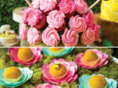 bumblebee and flower dessert ideas