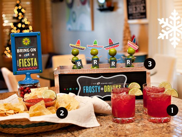casual holiday fiesta party ideas