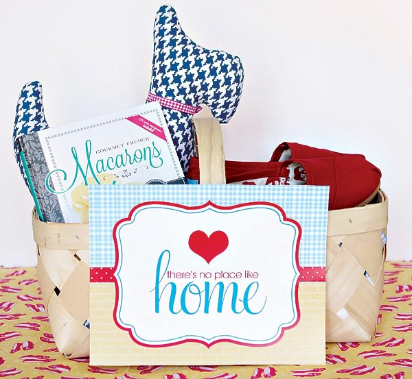 toto filled dorothy welcome home basket