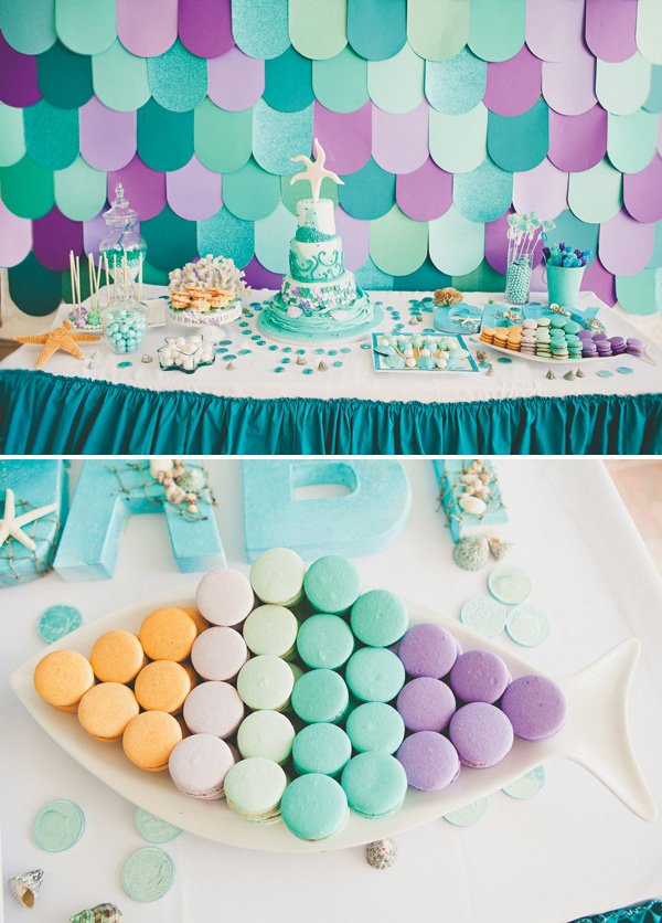 Sparkling Under The Sea First Birthday Party Hostess With The
