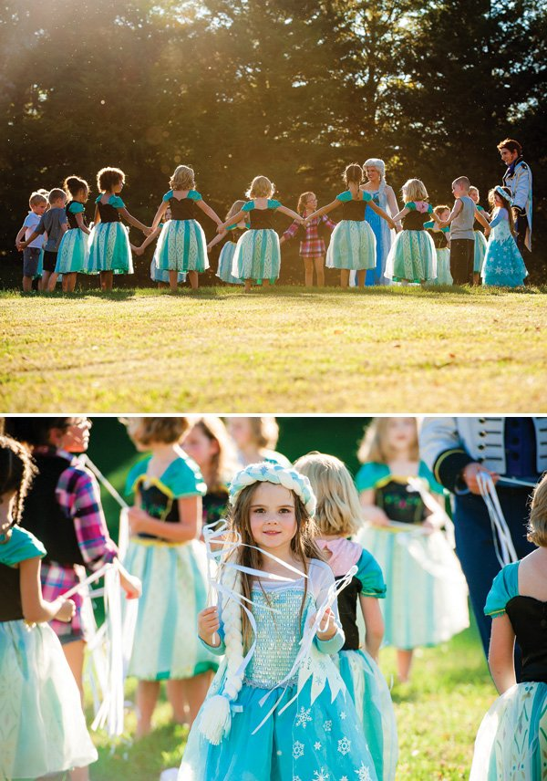 frozen birthday party games and activity ideas